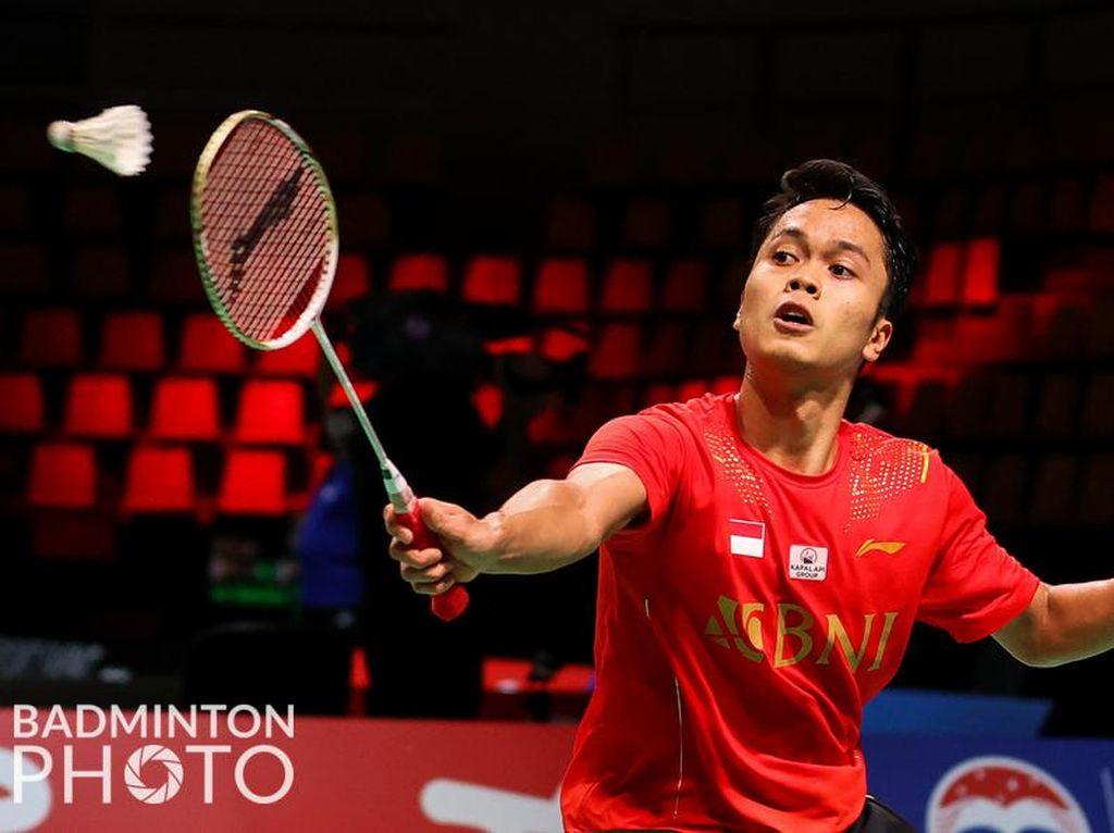 Piala Thomas 2020: Anthony Menang, Indonesia Unggul 1-0 atas Taiwan