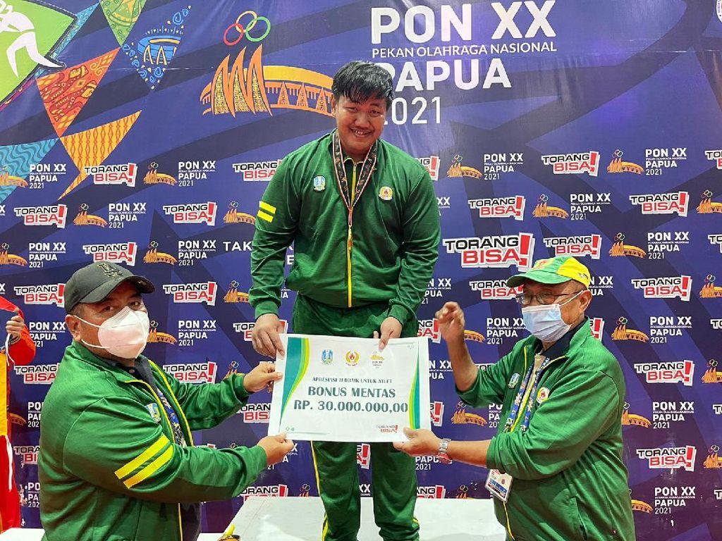 Atlet Lamongan Sumbang Medali Emas di Pon XX Papua, Kali Ini dari Gulat