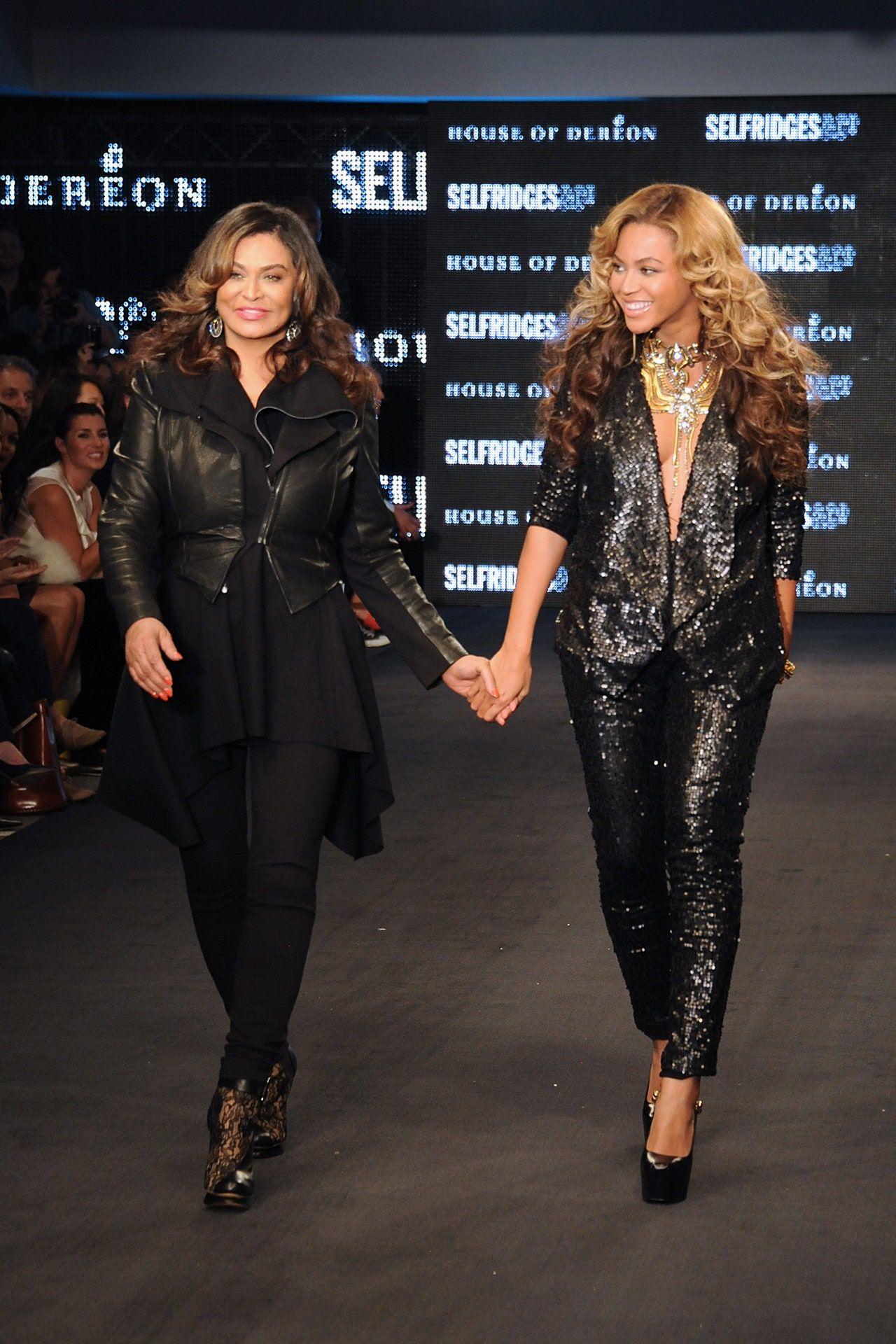 Beyoncé dan Tina Knowles