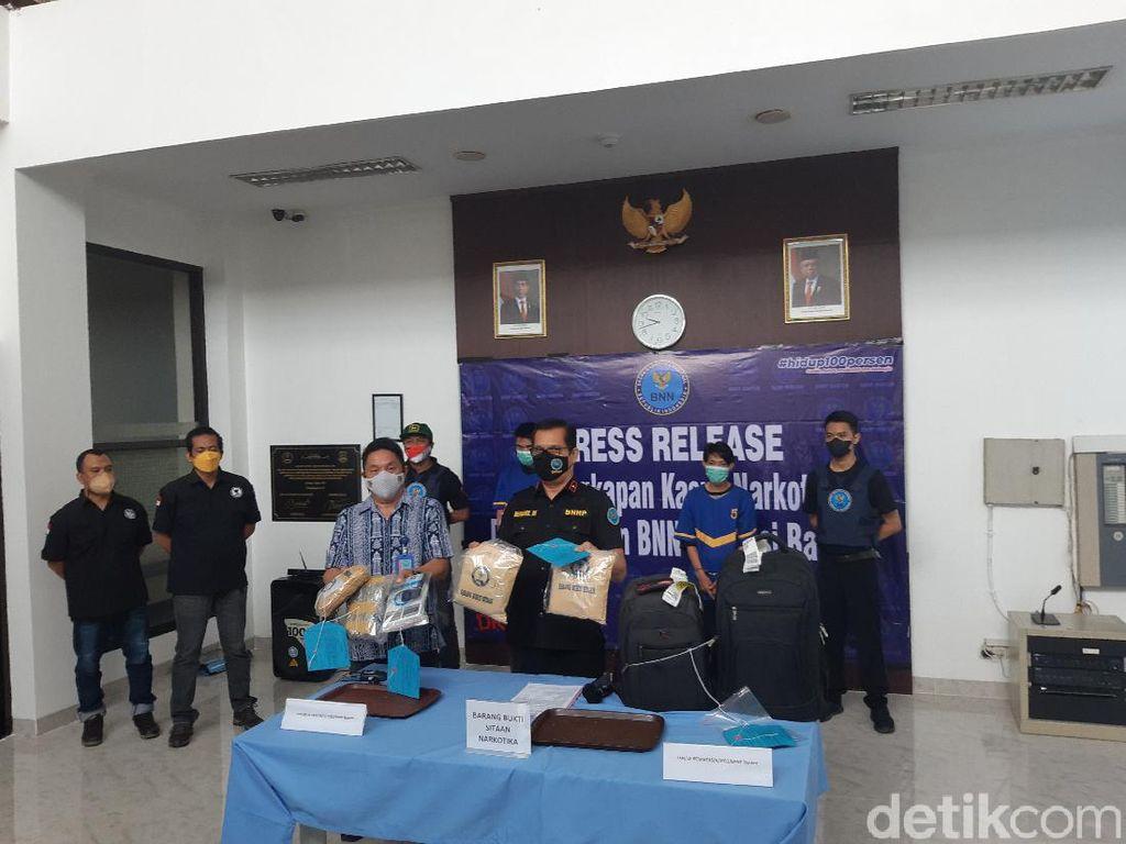 BNN Banten Heran Sabu 2 Kg Bisa Lolos X-Ray di Bandara Medan