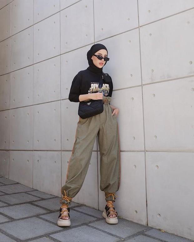 Boyish style ala Aghnia Punjabi