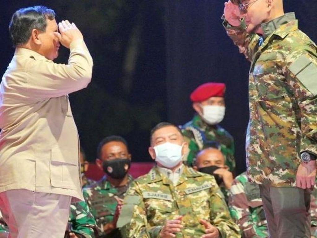 Deddy Corbuzier Ditunjuk Jadi Duta Komcad oleh Prabowo