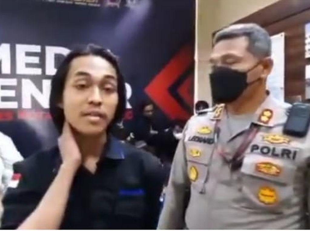 Klarifikasi Mahasiswa yang Dibanting Polisi di Tangerang: Saya Nggak Mati