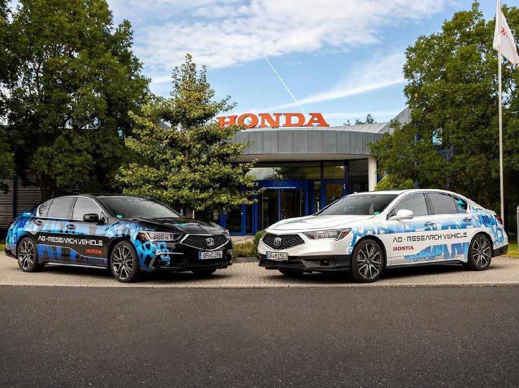 Honda Uji Coba Mobil Otonom Level 3 dan Level 4, Digeber 25.000 Km