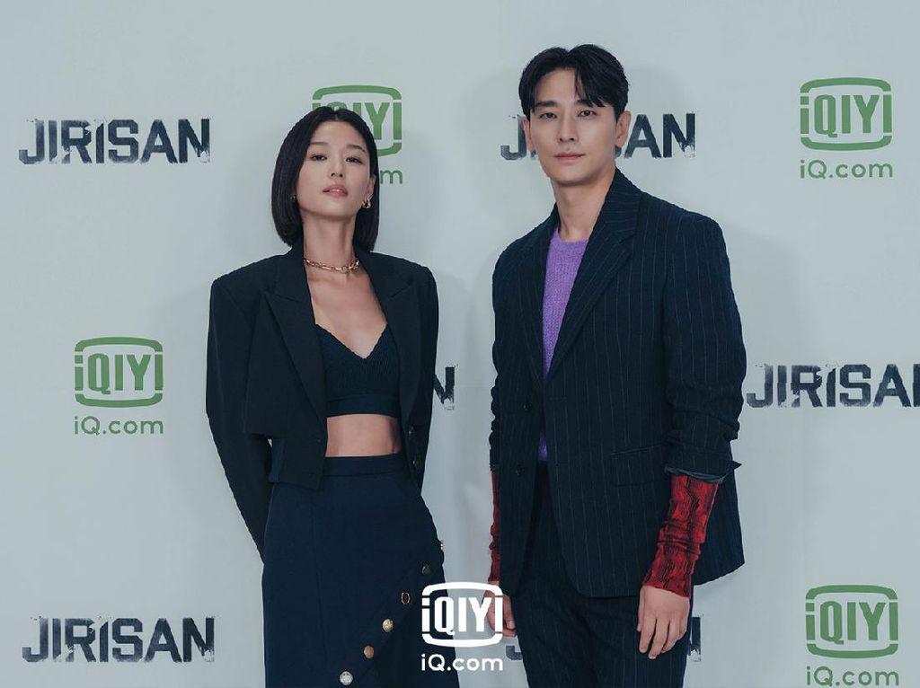 Serasinya Jun Ji Hyun dan Ju Ji Hoon di Konferensi Pers Jirisan