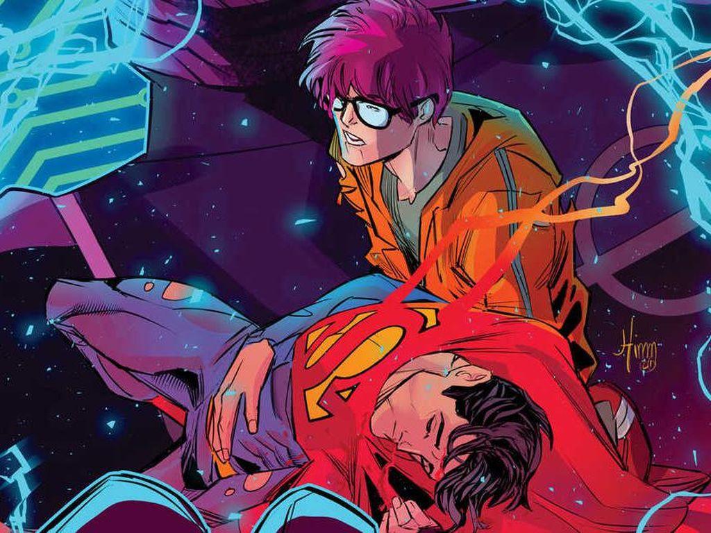Kontroversi Superman Biseksual