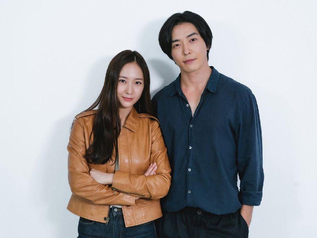 Krystal dan Kim Jae Wook Dipertemukan Lewat Drakor Crazy Love