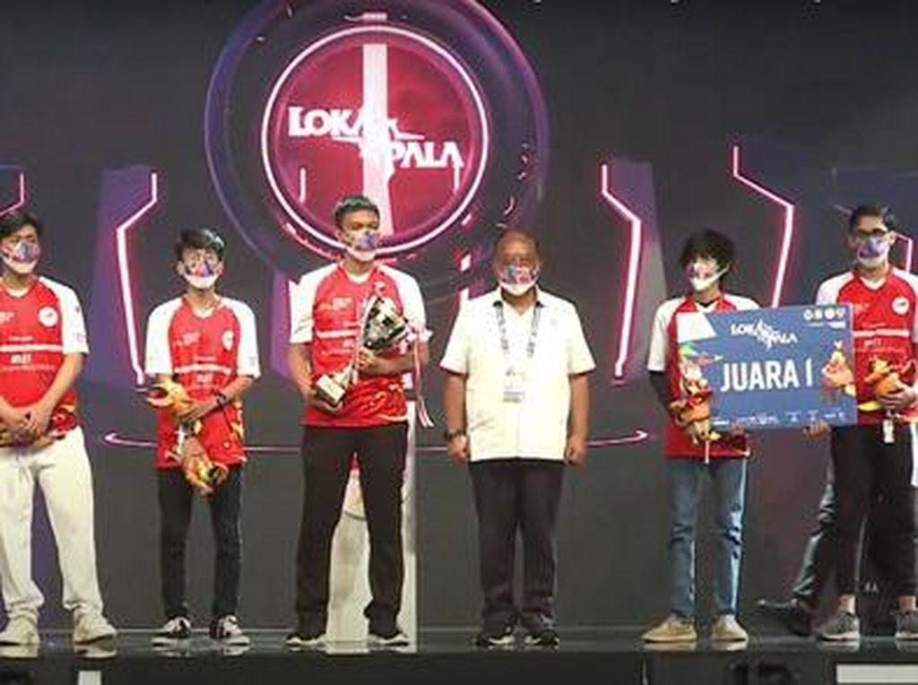 Game Lokal Lokapala Ikut PON XX Papua 2021, Ini Pemenangnya