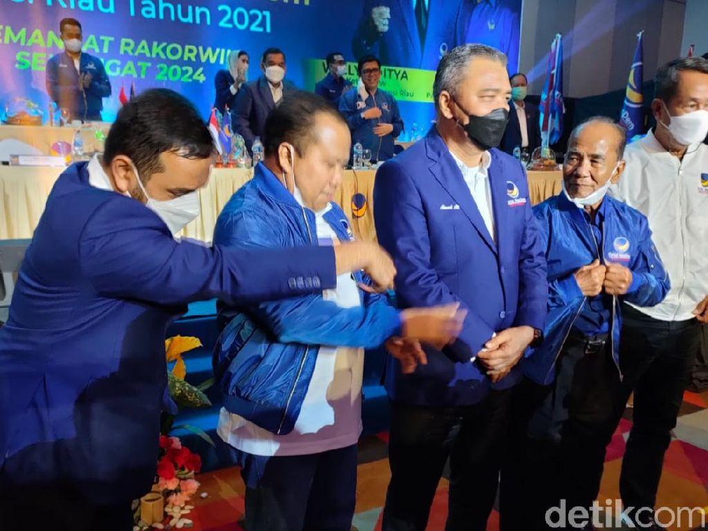 Mantan Gubernur Riau Annas Maamun Resmi Jadi Kader NasDem