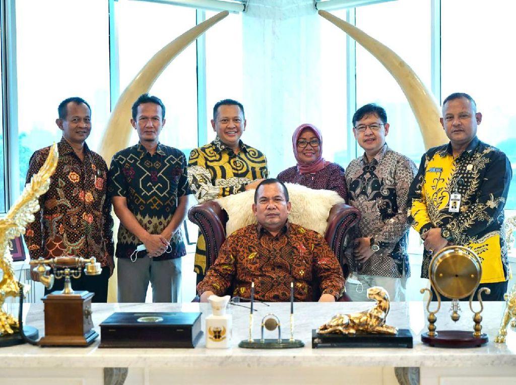 Bamsoet Terima Kunjungan Komisi D DPRD Kebumen, Ini yang Dibahas
