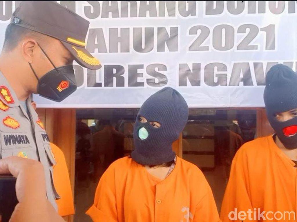 Janda Muda di Ngawi Diamankan Gegara Nyabu, Alasannya Stres Dicerai Suami