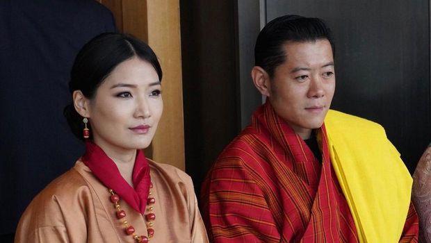 Ratu Jetsun dan Raja Jigme dari Kerajaan Bhutan