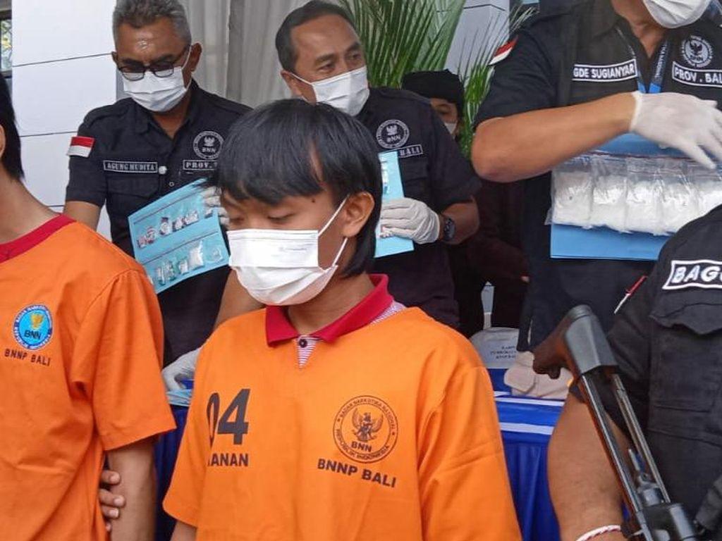 Mahasiswa Lampung Diperalat Bandar Narkoba, Diciduk BNN Bali