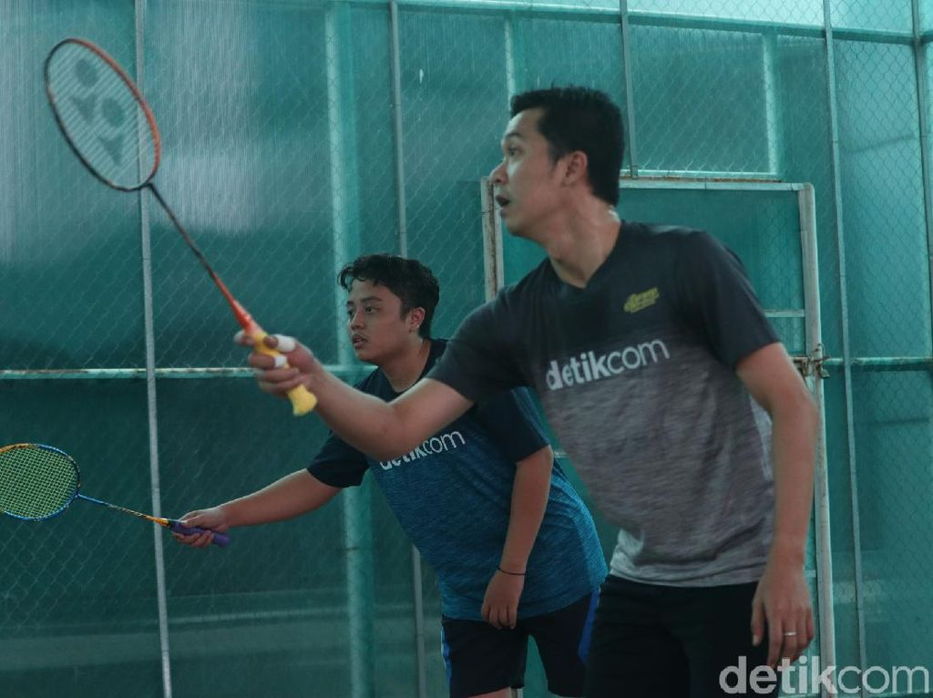 Tantang Ridwan Kamil Badminton, detikers Senang Campur Deg-degan