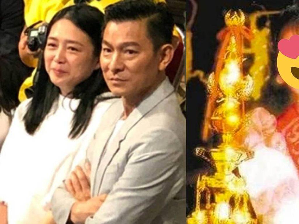 Jarang Terekspos, Ini Foto Jadul Istri Andy Lau saat Ikut Kontes Kecantikan