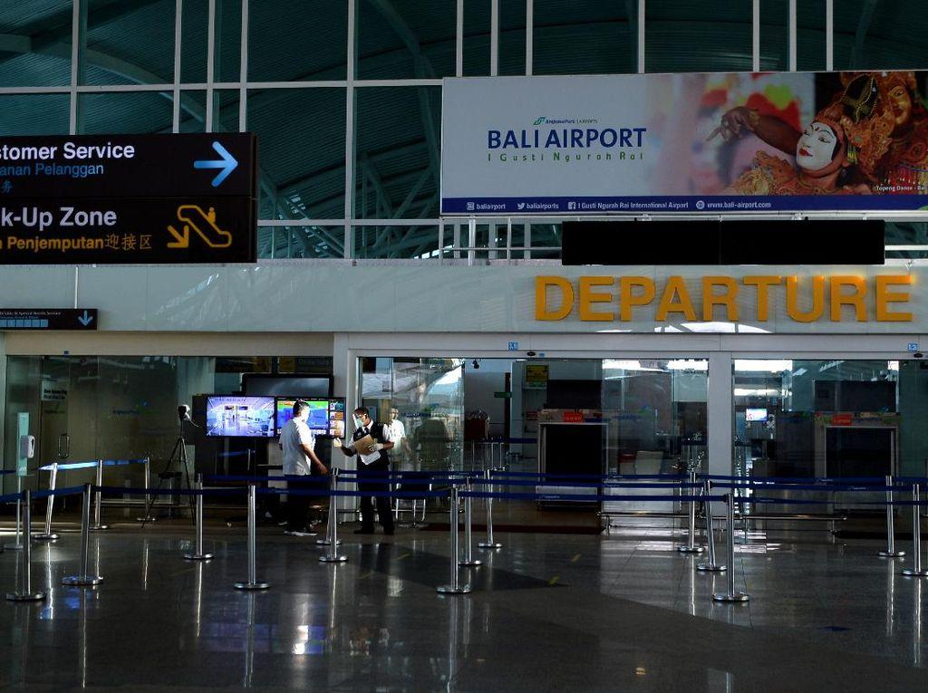 Bule Sudah Bisa ke Bali, Tapi Bandara Ngurah Rai Belum Terima Penerbangan Internasional