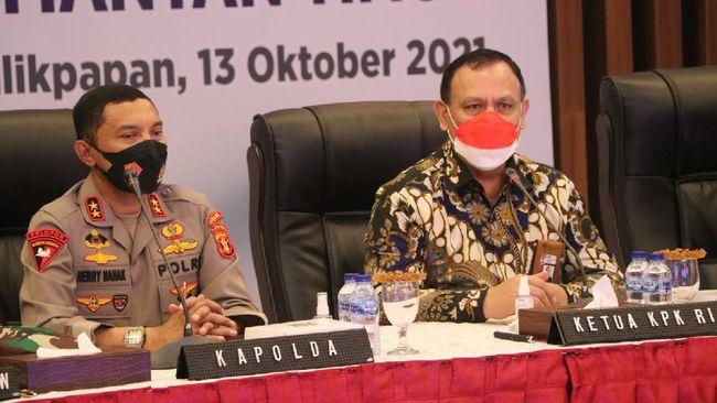 KPK Gandeng Polisi-Jaksa di Kaltim: Berantas Korupsi Tak Bisa Sendiri