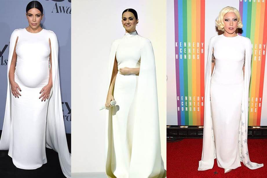 Kim Kardashian, Katy Perry dan Lady Gaga