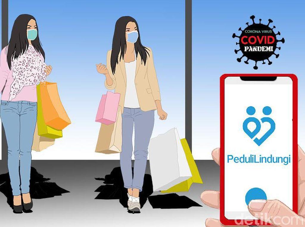 60 Juta Orang Sudah Download Aplikasi PeduliLindungi