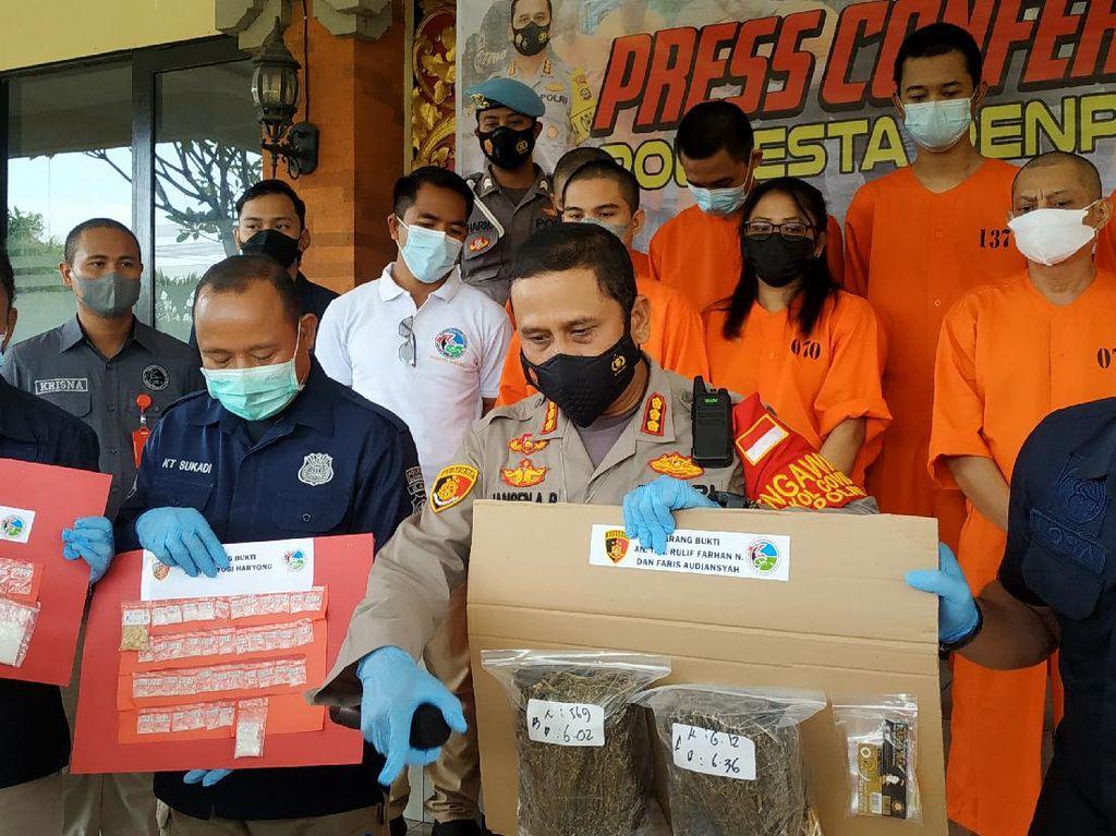 Pelatih Surfing-Mahasiswa Jakarta Edarkan Narkoba di Bali, 1 Kg Ganja Disita