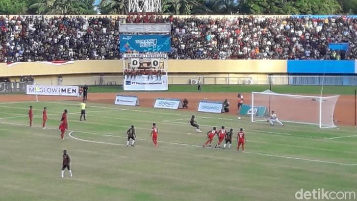PON Papua, Final Bola Putra