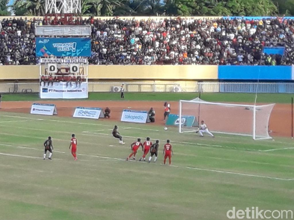 Hasil Final Sepakbola Putra PON: Papua Raih Emas Usai Kalahkan Aceh