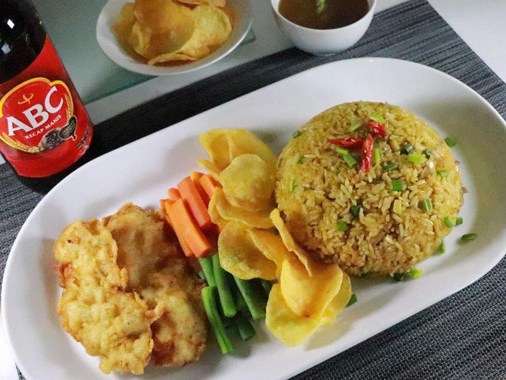 Resep Nasi Goreng Bistik dengan Lauk Komplet nan Istimewa