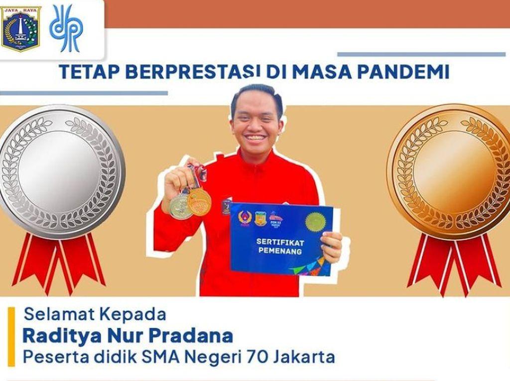Sosok Siswa SMAN 70 Jakarta yang Berhasil Raih 2 Medali di PON XX Papua