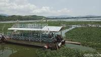 Kapal Wisata Rawa Jombor: Dulu Ikon, Kini Mangkrak Dikepung Eceng Gondok
