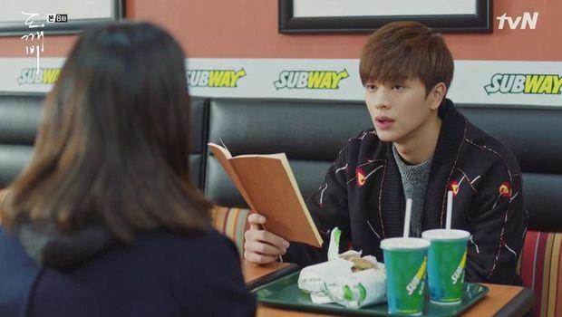Adegan di drama Korea dengan latar Subway