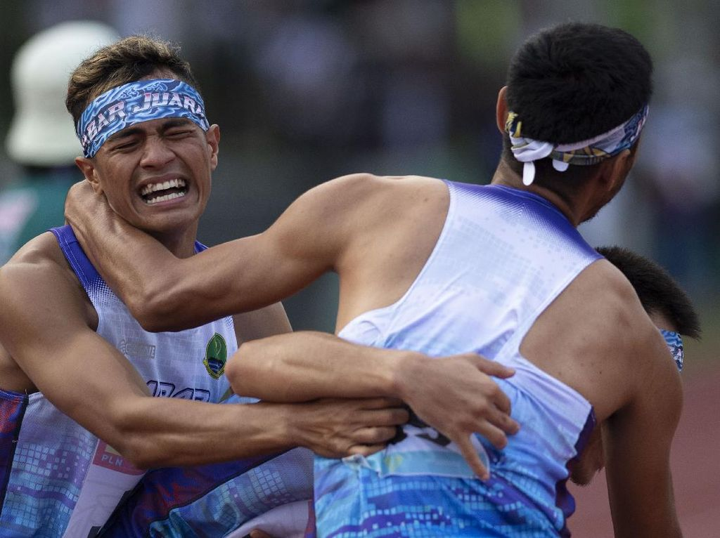 Koleksi 11 Emas, Jabar Juara Umum Atletik PON Papua