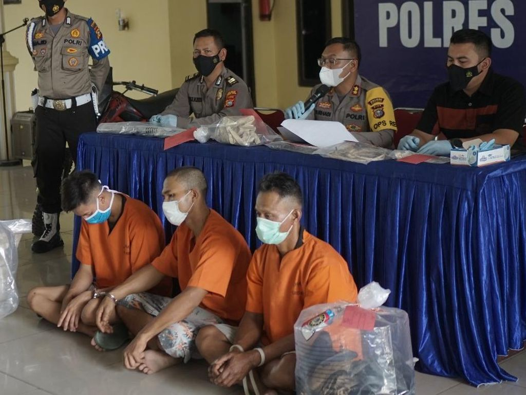 Pria di Riau Dendam Anak Dihamili, Korban Dijebak Pesta Sabu Lalu Dibunuh