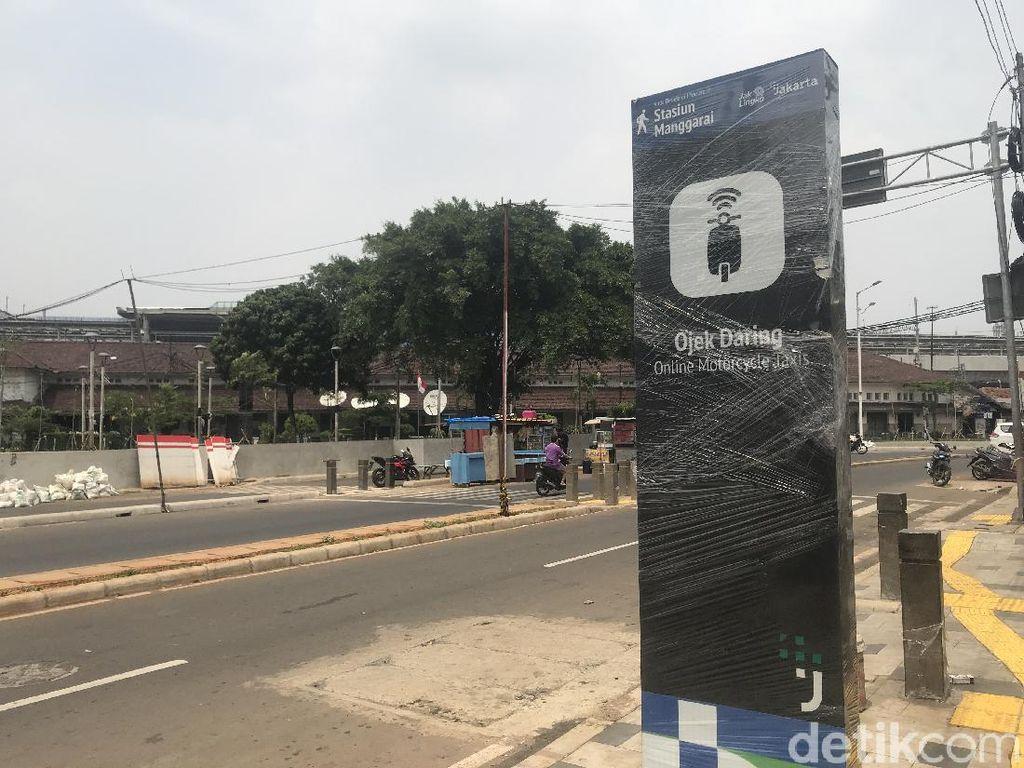 Suara Ojol agar Jalan Stasiun Manggarai Tak Macet Lagi Usai Penataan