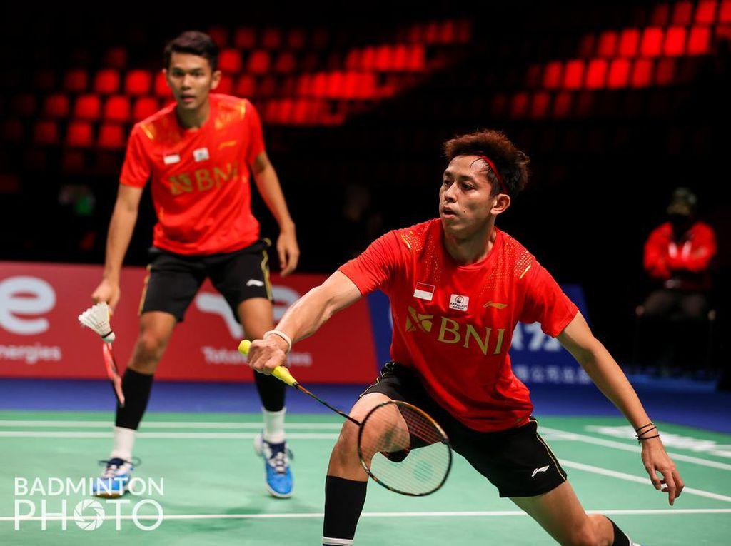 #FinalThomasCup, Indonesia vs China 2-0 Berkat FajRi On Fire