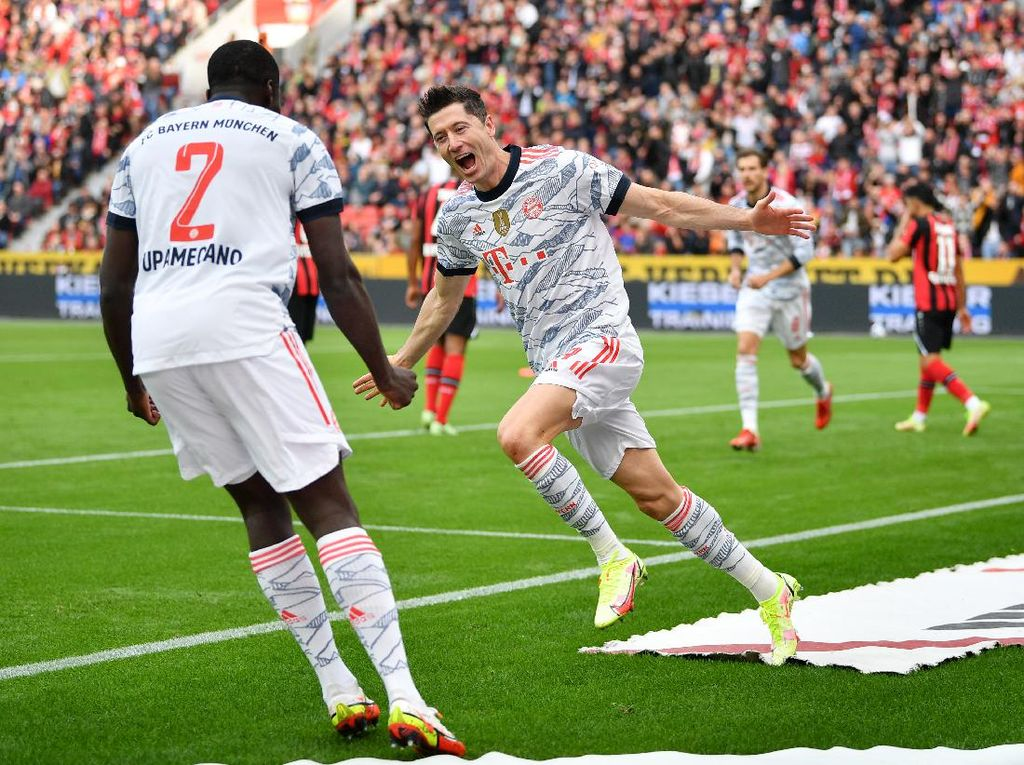 Bayern Ngamuk! Bantai Tuan Rumah Leverkusen 5-1