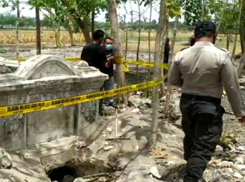 2 Kuburan China di Bojonegoro Dibongkar Orang Tak Dikenal