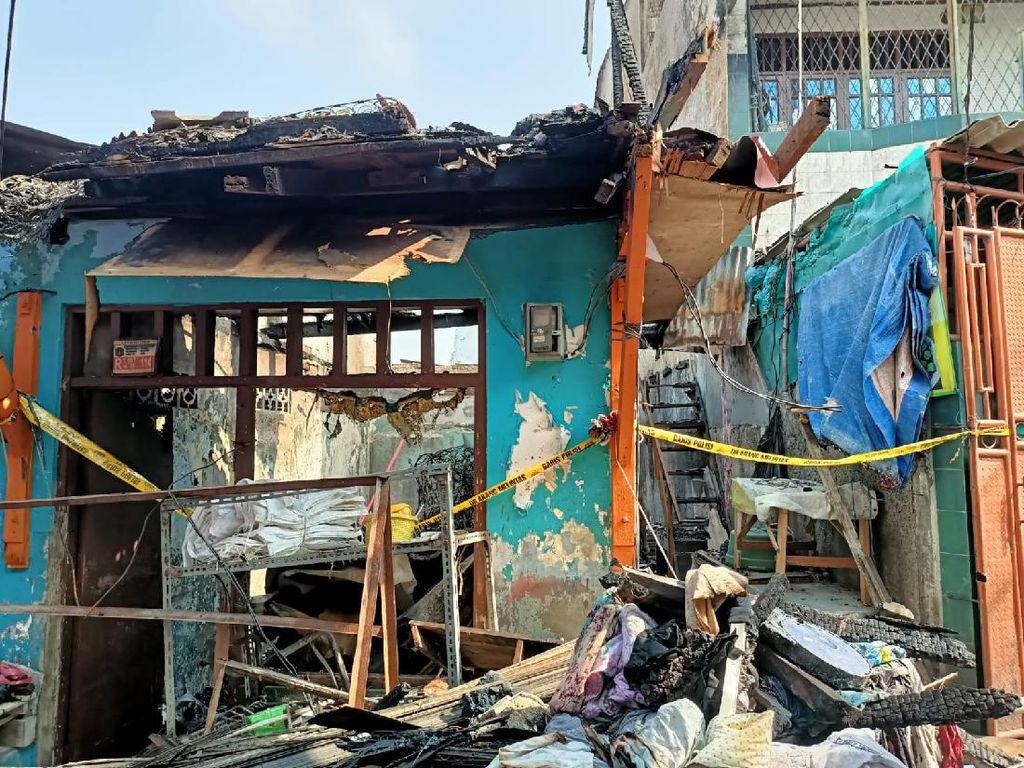 Selidiki Penyebab Kebakaran di Tambora Jakbar, Polisi Periksa 4 Saksi