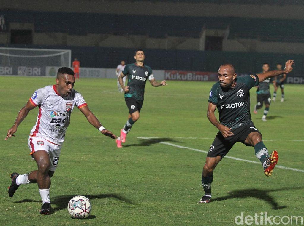 Libas Borneo FC, Persikabo Unggul 3 Gol Tanpa Balas