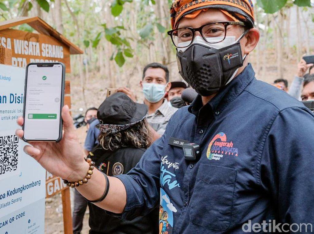Kemenparekraf Pantau Dampak Gempa M 4,8 di Bali