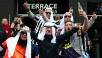Fans Newcastle Diimbau Tak Berpenampilan bak Orang Arab