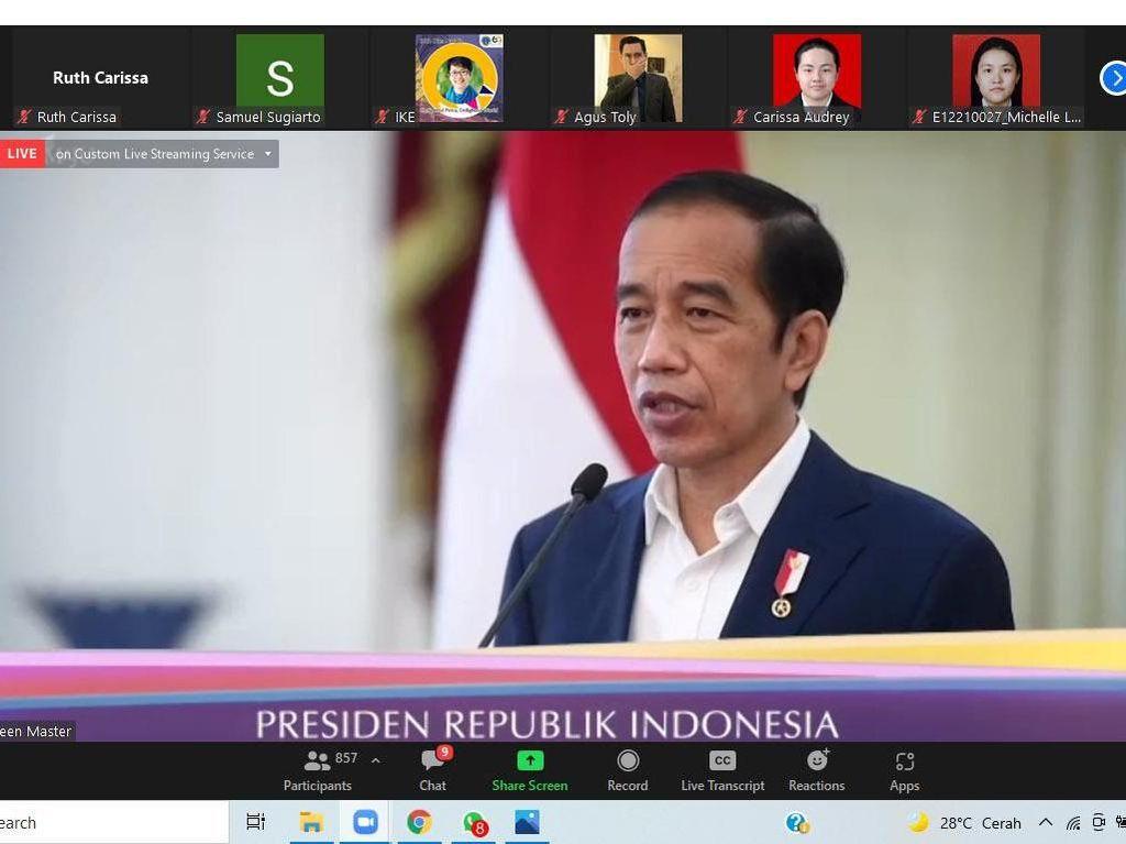 Hadir di Dies Natalis UK Petra Ke-60, Jokowi Ajak Majukan Pendidikan