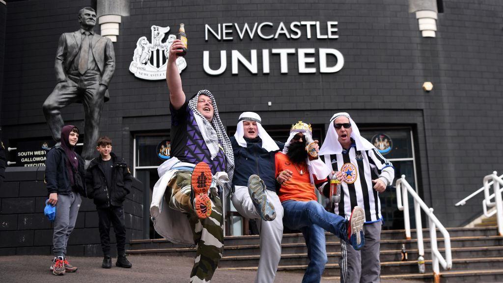Foto: Ahlan Wa Sahlan di Newcastle United