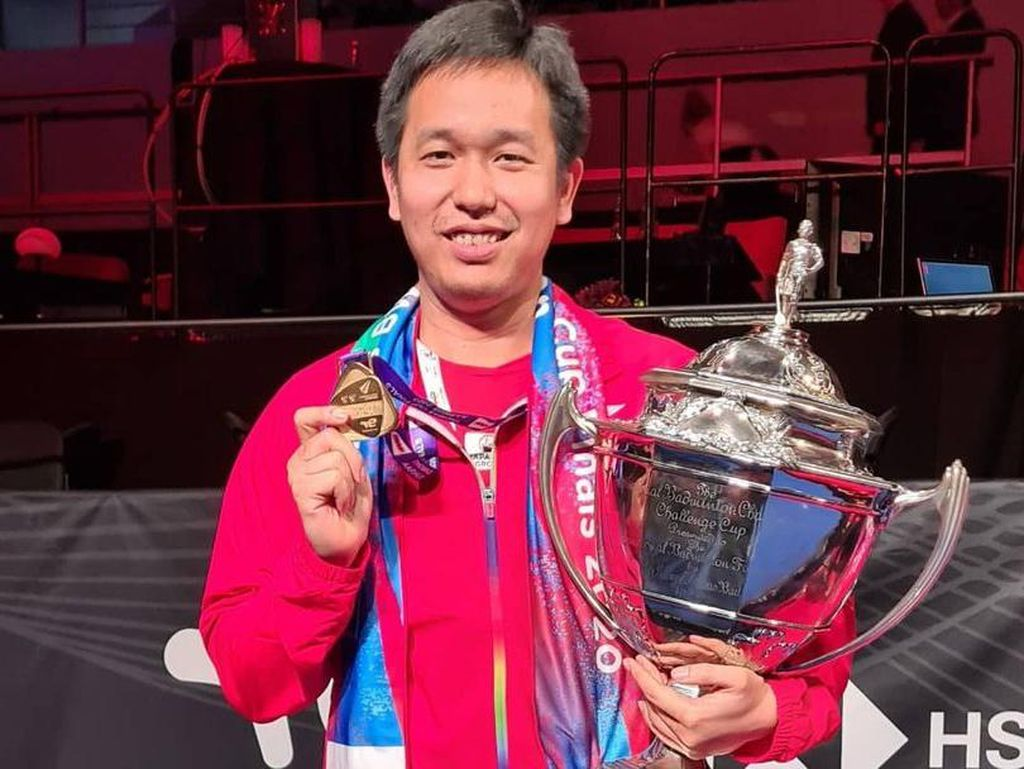 Indonesia Juara Piala Thomas Demi Hendra Setiawan