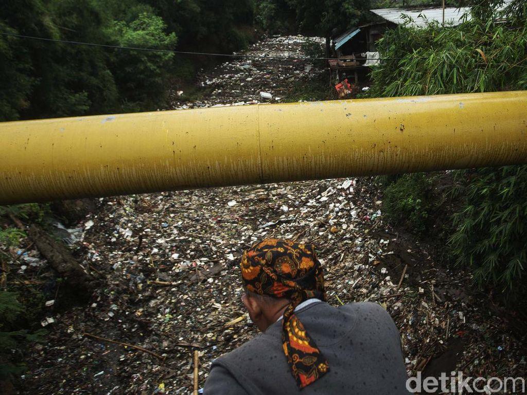 Selalu Ada Kasus Tumpukan Sampah di Kali Jambe