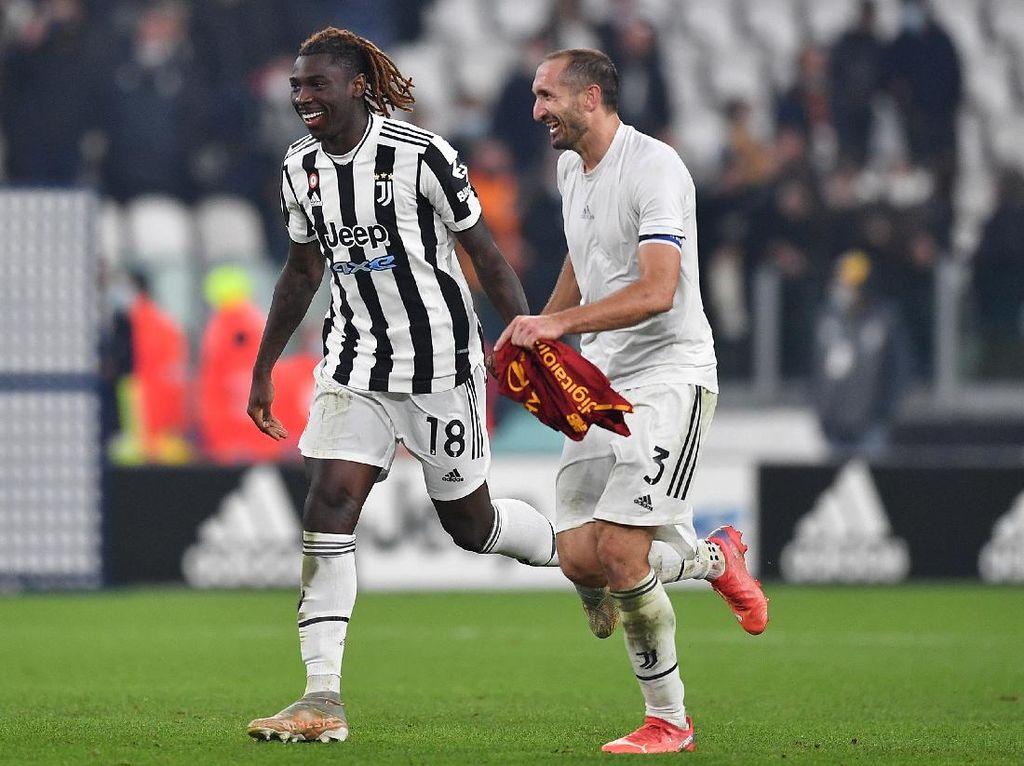 Moise Kean Tak Peduli Siapa Pencetak Gol Juventus ke Gawang Roma