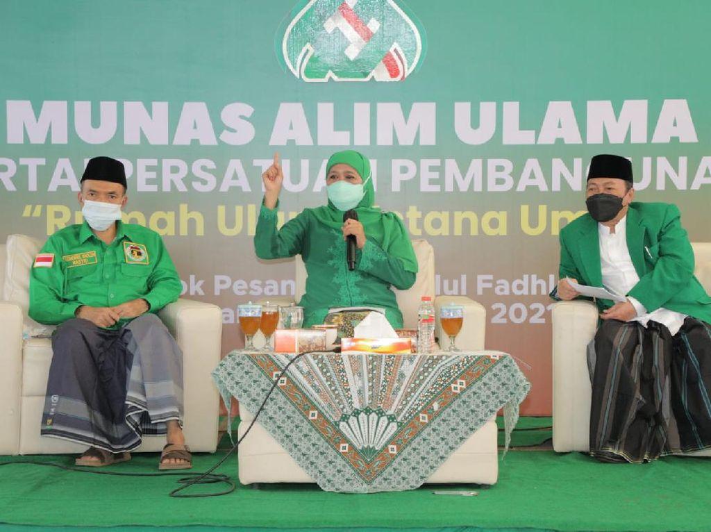Agar PPP Jadi Corong Aspirasi Umat, Khofifah Dorong Rangkul Ulama