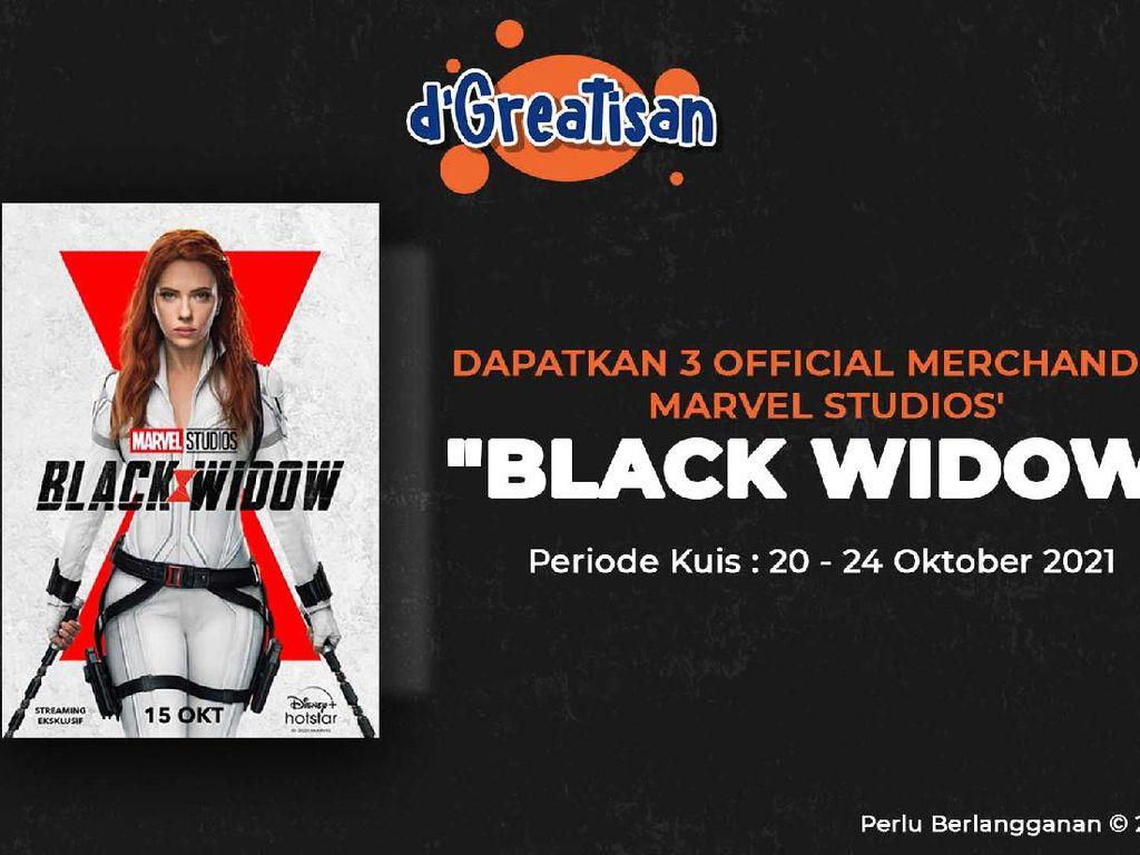 detikcom Kasih Kamu Merchandise Resmi Marvel Studios Black Widow, Cek di Sini!