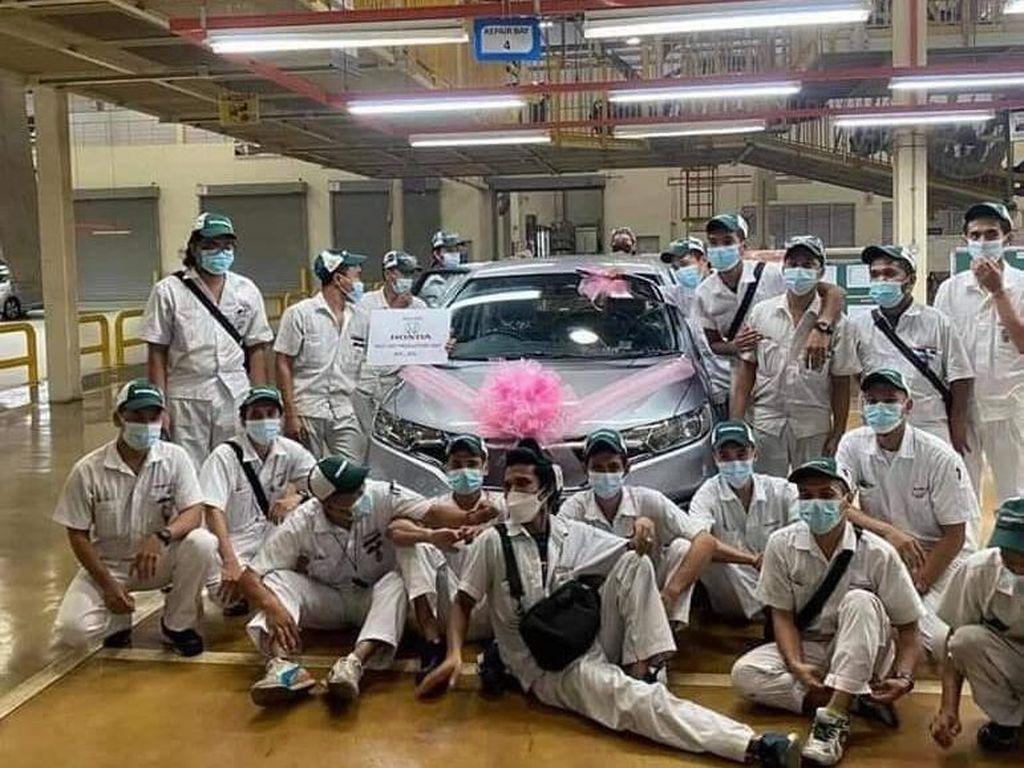 Sayonara! Ini Honda Jazz Produksi Terakhir