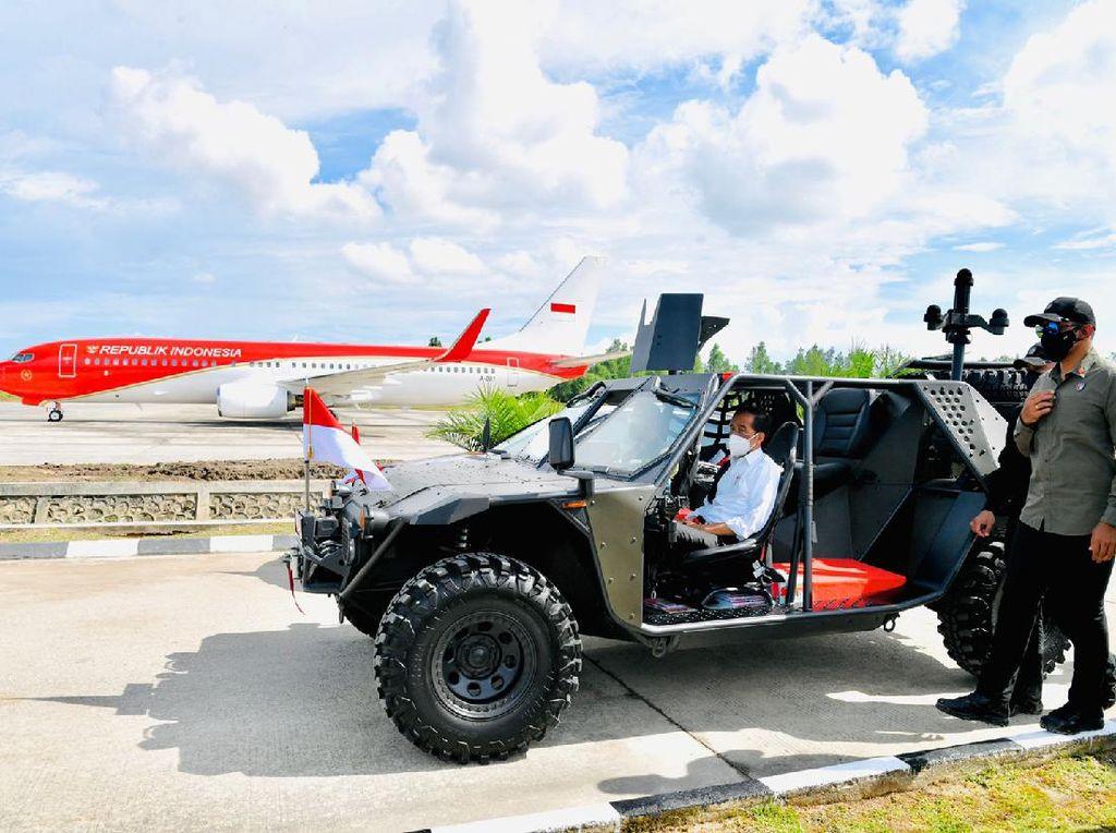 Jokowi Susuri Tarakan Pakai Rantis P6 ATAV V1, Ini Kecanggihannya