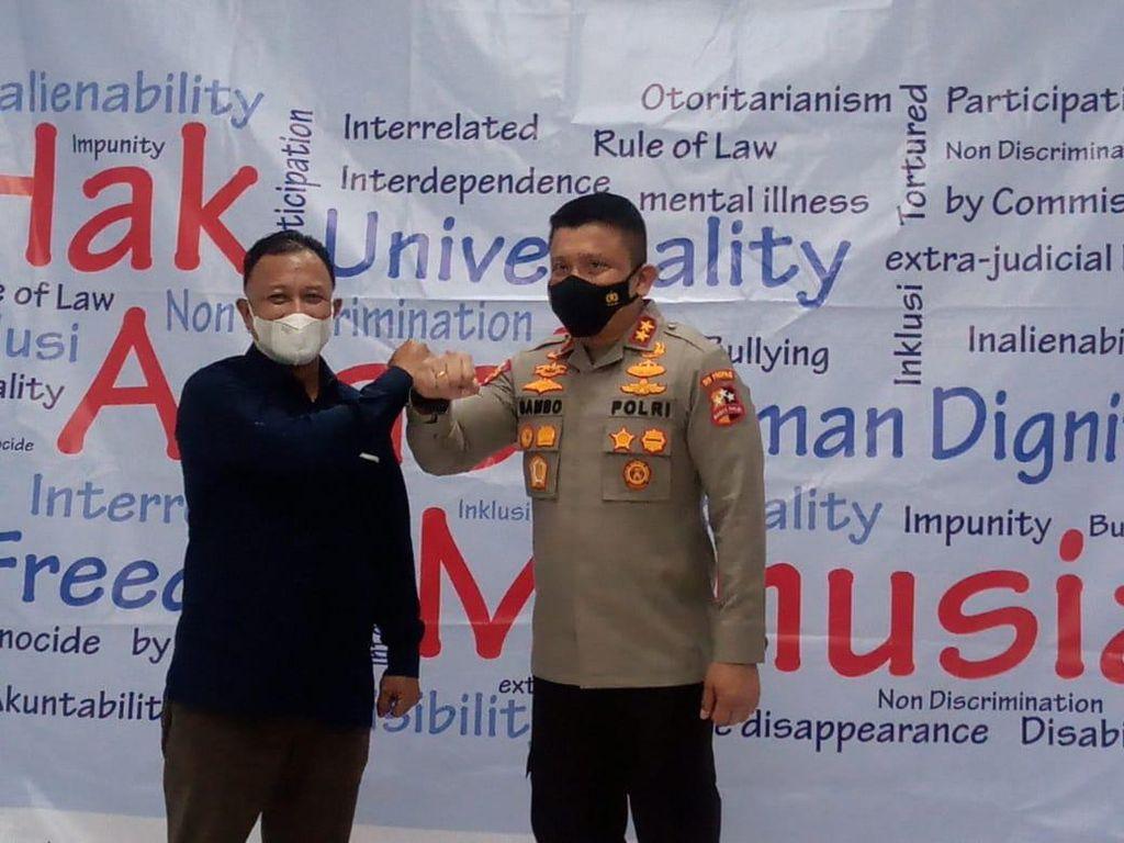 Komnas HAM-Propam Polri Perkuat Kerja Sama Pengawasan dan Penanganan Kasus